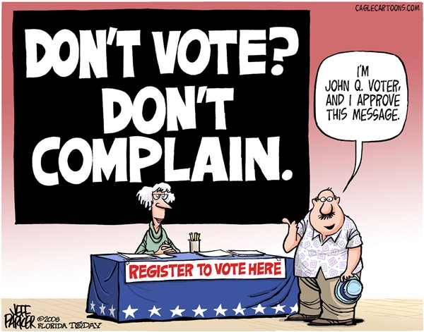 Don't Vote Don't Complain