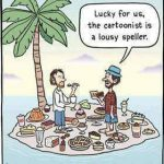 Cartoon – Desserted Island