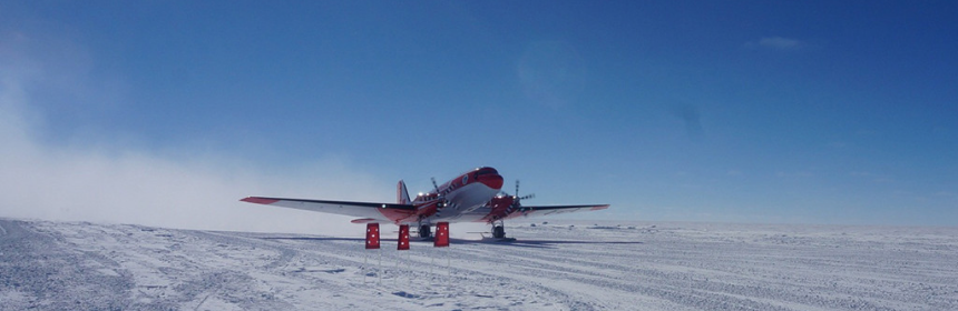 China Antarctica Airfield