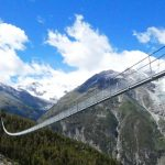 WORLD'S LONGEST SUSPENSION FOOTBRIDGE FOUND IN ALPS