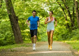 Benefits of a running routine