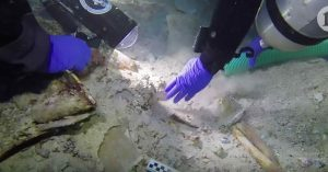 Human remains found in 2,100-year-old shipwreck