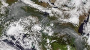Uncontrolled wildfires ravage the Arctic