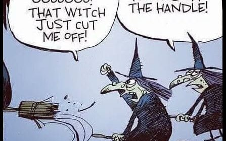 Halloween Witches - Fly Off The Handle
