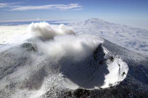 Active Volcano Discovered Under Glacier in Antarctica