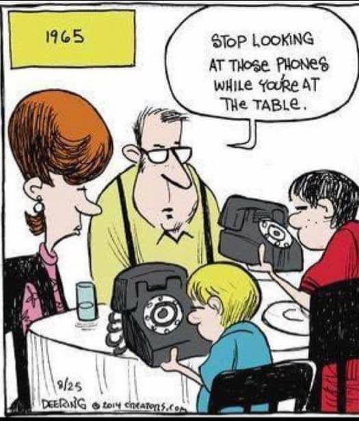 Cartoon - Table Manners