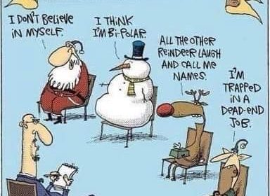 Cartoon - Christmas Group Therapy
