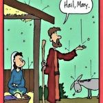 Cartoon – Hail Mary