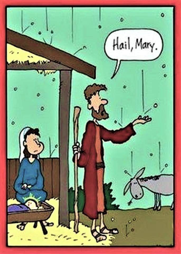 Cartoon - Hail Mary