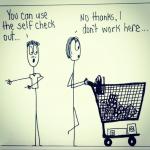 Cartoon – I Don't Work Here