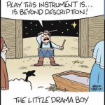 Cartoon – Little Drama Boy