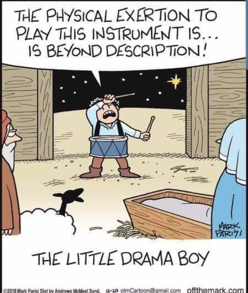 Cartoon - Little Drama Boy