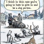 Cartoon – Reality check for cat people