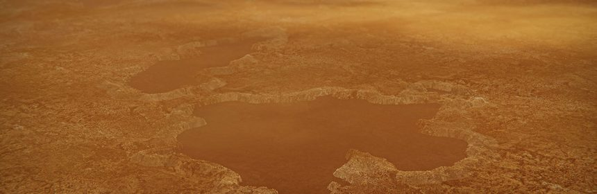 Titan's Surface Much Like That of Earth