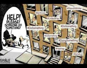 Cartoon - Social Action