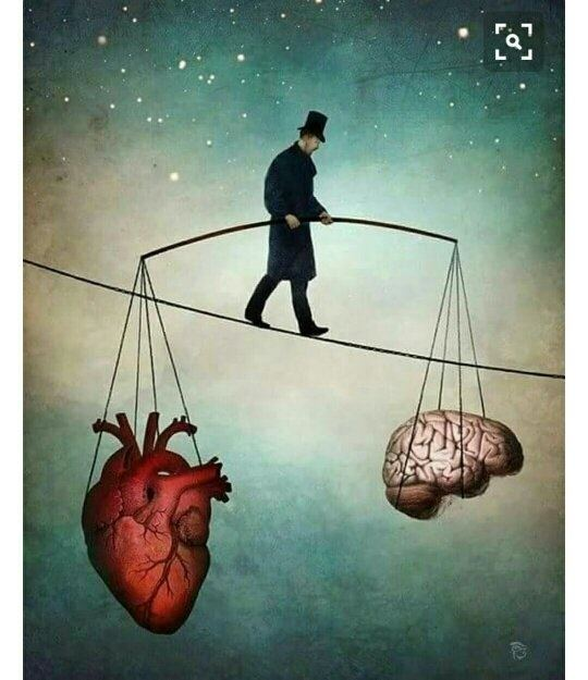 Balance your heart and mind