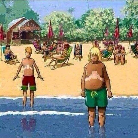 Gen Z At The Beach